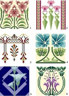 Art Nouveau cross stitch kits mainly from Mackintosh. Description from crosssimp.com. I searched for this on bing.com/images