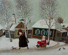 Gubarev, Valentin (b,1948)- Ensuring Memorable Christmas