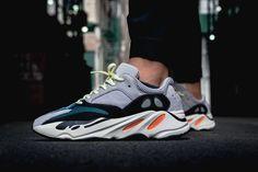 adidas YEEZY BOOST 700 On Feet Closer Look Wave Runner Kanye West Kim  Kardashian footwear Fancy b1bfb1ff5
