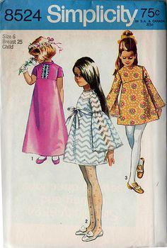 Simplicity 8524 - vintage pattern by cluttershop, via Flickr
