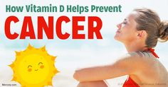 Research shows vitamin D is involved in the biology of all cells and tissues in our body, including our immune cells. http://articles.mercola.com/sites/articles/archive/2017/04/10/vitamin-d-lowers-cancer-risk.aspx