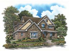 Eplans Craftsman House Plan - Craftsman Details Abound - 2901 Square Feet and 4 Bedrooms from Eplans - House Plan Code HWEPL69106