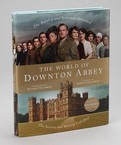 Look at this #zulilyfind! The World of Downton Abbey Hardcover #zulilyfinds