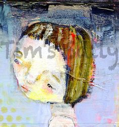 Carrie Rose  original 4x4 by Mindy Lacefield by timssally on Etsy, $40.00