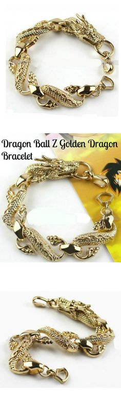 Dragon Ball Z Golden Dragon Bracelet! Click The Image To Buy It Now or Tag Someone You Want To Buy This For.  #DragonBallZ