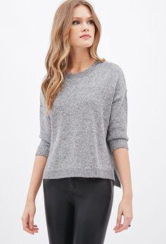 Metallic Knit Sweater - Sweatshirts & Knits - 2000121248 - Forever 21 EU English