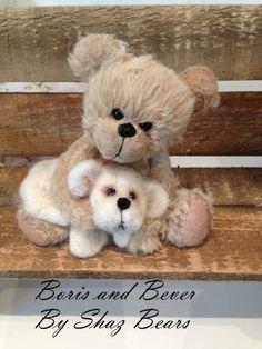 Boris and Beaver by Shaz Bears
