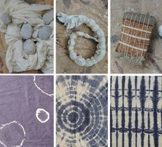 Claire walks us through the different kinds of #shibori, a traditional Japanese dye technique (with seriously cool results)