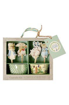 Meri Meri 24-Pack Peter Rabbit Cupcake Party Kit | Nordstrom