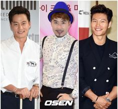 Lee Seo-jin, Noh Hong-cheol and Kim Jong-kook to MC for new KBS show