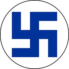 Finnish Airforce. Had nothing at all to do with the nazi swastika and is much older than that.