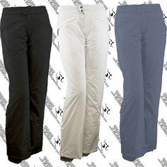 53128503d9 White sierra d9720w womens slider insulated ski snow pant s