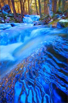 Layers of Blue Amethyst Brook, Ma