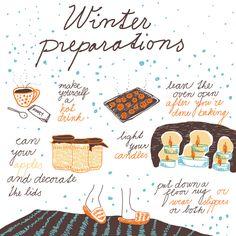 Winter preparations - by Livia Prudilova - Anglicky efektívne