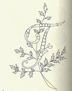Embroidery Letters, Hand Embroidery Patterns, Embroidery Designs, Learn To Draw, How To Draw Hands, Free Hand Drawing, Pattern Drawing, Needle And Thread, Blackwork