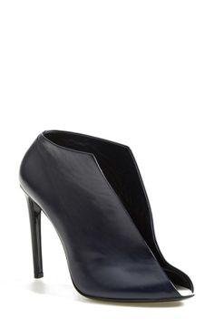Balenciaga Leather Split Vamp Bootie (Women)   No