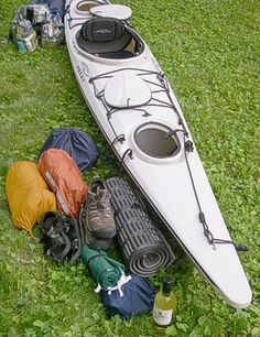 Packing a Kayak for Camping ; By Jeffrey Lee -At some point early in our paddling lives, perhaps when we find ourselves approaching the end of ...