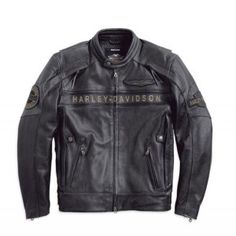 harley davidson hdontheroadnapoli giubbino uomo pelle fronte jacket spencer leather