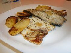 Dorada al Horno con Patatas Panaderas