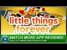 Little Things Forever iPhone App - Best iPhone App - Apps #iphone #android #apps