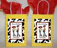Woody and Jessie Toy Story Personalized by SimplyCreateDesigns, $5.75
