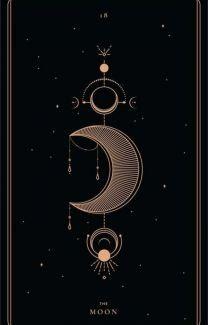 Wallpapers - ↬мαƒєн↫ - Wattpad Witchy Wallpaper, Mystic Wallpaper, Wallpaper Quotes, Illustration Ligne, Symbole Protection, The Moon Tarot Card, Tarot Card Tattoo, Roman Clock, Major Arcana