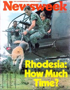 Rhodesia: The Great Betrayal - The Casual Observer Military Working Dogs, Military Training, Military Life, Military History, News South Africa, Military Special Forces, Man Of War, Military Photos, All Nature