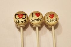I love nerds and geeks ball style edible by VintageConfections, $11.50