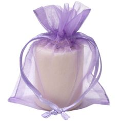 Large White Organza Pouches Pack of Five Great Stocking Filler Wrapping