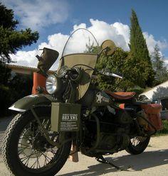 Harley Davidson 883 XWL front