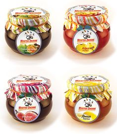 Creative jam packaging and label design
