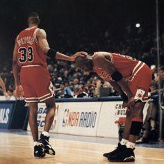 Photographer: @walteriooss  —  Scottie Pippen & Michael Jordan 1993 Chicago Bulls  —  #michaeljordan #mj #jordan #airjordan #airjordans #scottiepippen #scottie #pippen #pip #walteriooss #iooss #photography #chicago #chicagobulls #bulls #nba #1993 #airjordan8 #aj8 #basketball #bball #chi