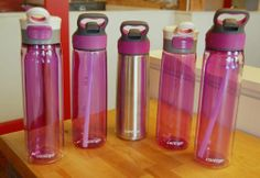 """#TrendAlert! The 2014 Color of the Year chosen by #Pantone has been announced as Radiant Orchid!   This """"It"""" color will be one of our newest water bottle colors in 2014! Stay tuned for more exciting colors & products in the new year!"""