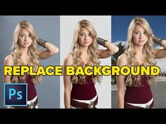 How to put a photo onto a new background in Photoshop. Simple steps, best and fastest result in this easy Photoshop CC tutorial by Colin Smith from PhotoshopCAFE Photoshop Youtube, Cool Photoshop, Photoshop Effects, Photoshop Tutorial, Photoshop Actions, Photoshop Elements, Photoshop Logo, Learn Photoshop, Photoshop Ideas