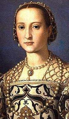 Elenora of Toledo 1550  By Agnolo Bronzino  Wallace Collection, London  Courtesy Tudor Portraits.com