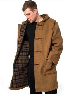 Orig. Montgomery London Duffle | Tweed Plaid Wool Wingtips ...
