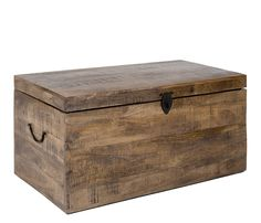 Rustic Toy Chest And Storage Trunk | Made From Recycled Pallets | Rustic  Toys, Storage Trunk And Pallets
