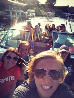 I love boating!