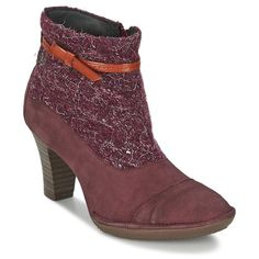 Bottines+TBS+FABULL+Bordeaux+54.50+€