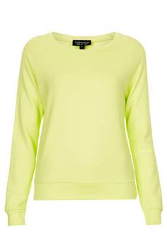 Neat Rib Sweat in yellow. A lot brighter and greener than in the picture!