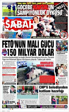 #20160517 #TürkiyeHABER #TURKEY #TurkeyTodayNEWSpapers20160517 Tuesday MAY 17 2016 http://en.kiosko.net/tr/2016-05-17/ + http://www.trthaber.com/foto-galeri/gazete-mansetleri-17-mayis-2016/10459/sayfa-10.html <+> #SABAH20160517 http://en.kiosko.net/tr/2016-05-17/np/sabah.html