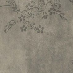 AQUARELLE VÄGG CONCRETE FLOWER - Fresks