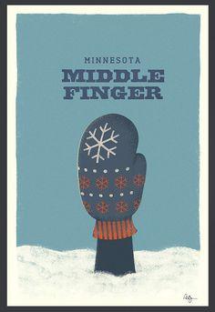 "Very funny! People here are ""Minnesota Nice"" and proud of it! Minnesota Funny, Minnesota Home, Minnesota Outline, Minnesota Tattoo, Duluth Minnesota, Minneapolis Minnesota, Minnesota Vikings, Make Me Happy, Make Me Smile"