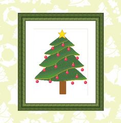 Christmas Tree Cross Stitch Pattern Instant Download Xmas | Etsy Cross Stitch Tree, Cross Stitch Patterns, Xmas, Christmas Tree, Dmc Floss, Different Fabrics, Gift, How Are You Feeling, Symbols