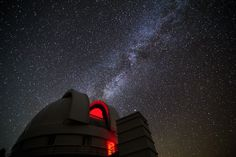The McDonald Observatory and the Milky Way.