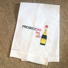 """Biscuit Flash Sale on Instagram: """"Prosecco Hand Towel / Price $10 / Shipping $5"""" Crafty Fox, Prosecco, Sale On, Hand Towels, Biscuits, Instagram, Crack Crackers, Cookies, Biscuit"""