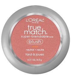 Best blushes under $11-L'Oréal Paris True Match Super Blendable Blush in Sweet Ginger