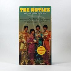The Rutles VHS Mockumentary/Comedy/Parody 1995 by TheJunkinSailor