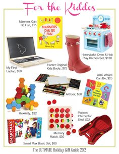 Great gifts for Kids! #kids #holidaygiftguide #gifts #toys