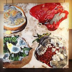 My Art A level final piece of the process of decay! Art by Kate Victoria: A Level Artwork A Level Art Themes, Decay Art, A Level Art Sketchbook, Natural Form Art, Growth And Decay, Nature Artists, Fruit Painting, Fruit Art, Elements Of Art
